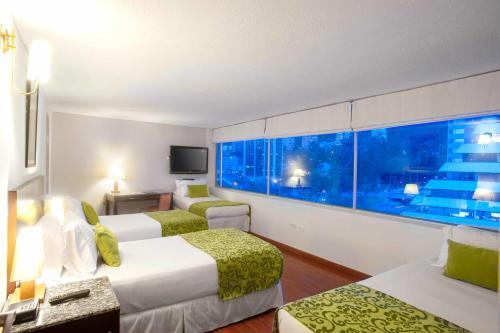 Hotel Oceanía Bogotá salas fotos