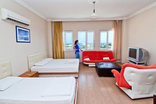 Lara Prestij Apart Hotel address