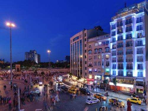 Istanbul CVK Taksim Hotel Istanbul yol tarifi