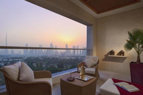 Raffles Dubai room photos