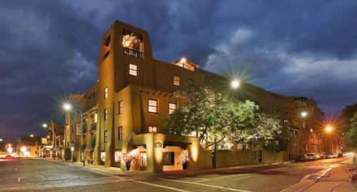 100 E San Francisco St, Santa Fe, NM 87501, USA.