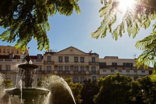 Hotel Metropole in Lissabon
