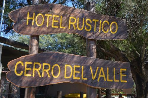 . Hotel Rustico Cerro Del Valle