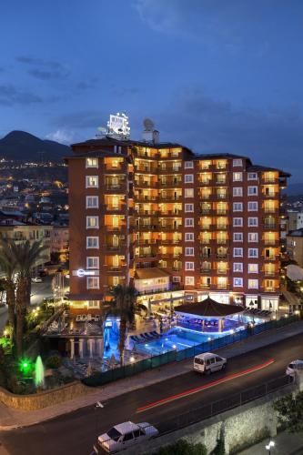 Alanya Villa Moonflower Aparts & Suites yol tarifi