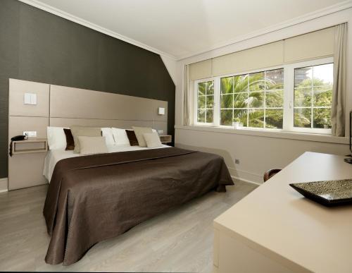 Doppel-/Zweibettzimmer mit Gartenblick - Einzelnutzung Hotel Igeretxe 6