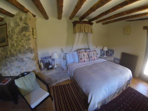 Superior Double Room Cretas Hotel Mas de la Serra 2