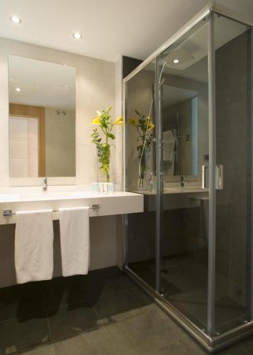 Doppel- oder Zweibettzimmer mit Gartenblick und Zugang zum Spa - Einzelnutzung Hotel Spa Niwa 12