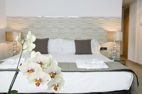 Doppel- oder Zweibettzimmer mit Gartenblick und Zugang zum Spa - Einzelnutzung Hotel Spa Niwa 8
