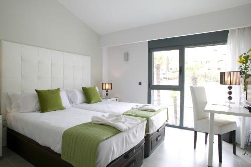 Doppel- oder Zweibettzimmer mit Gartenblick und Zugang zum Spa - Einzelnutzung Hotel Spa Niwa 14