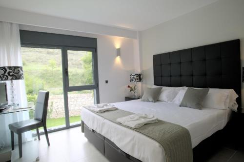 Doppel- oder Zweibettzimmer mit Gartenblick und Zugang zum Spa - Einzelnutzung Hotel Spa Niwa 9