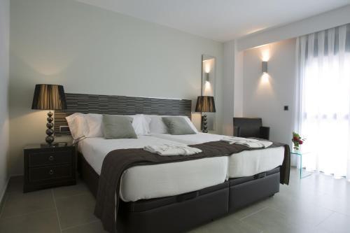 Doppel- oder Zweibettzimmer mit Gartenblick und Zugang zum Spa - Einzelnutzung Hotel Spa Niwa 10
