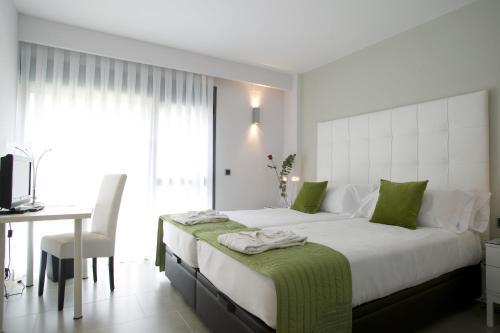 Doppel- oder Zweibettzimmer mit Gartenblick und Zugang zum Spa - Einzelnutzung Hotel Spa Niwa 11