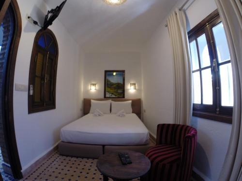 Riad Zaitouna Chaouen Стандартный двухместный номер с 1 кроватью