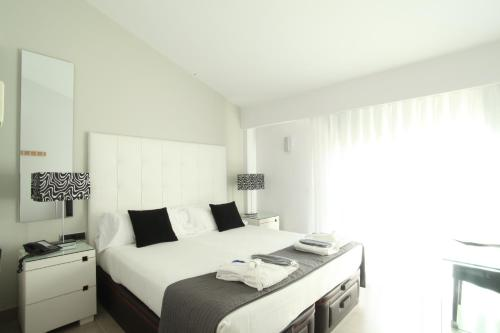Doppel- oder Zweibettzimmer mit Gartenblick und Zugang zum Spa - Einzelnutzung Hotel Spa Niwa 15