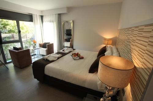 Doppel- oder Zweibettzimmer mit Gartenblick und Zugang zum Spa - Einzelnutzung Hotel Spa Niwa 16