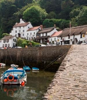 Harbourside, Lynmouth EX35 6EG, England.