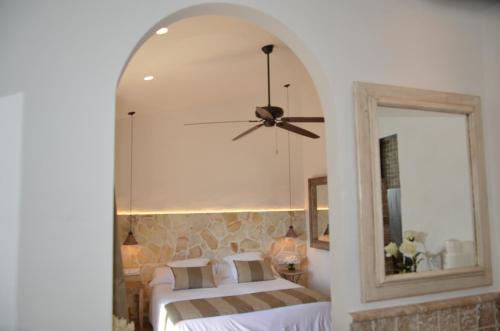 Habitación Doble Superior con terraza Hotel Galena Mas Comangau 47