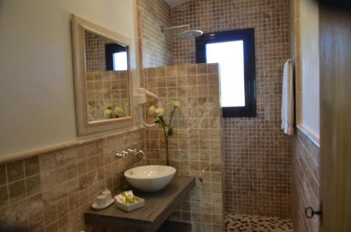 Superior Double Room with Terrace Hotel Galena Mas Comangau 67
