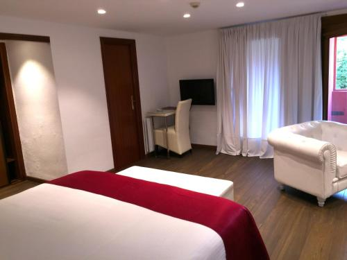 Suite Junior con chimenea y acceso al spa Hotel Del Lago 43