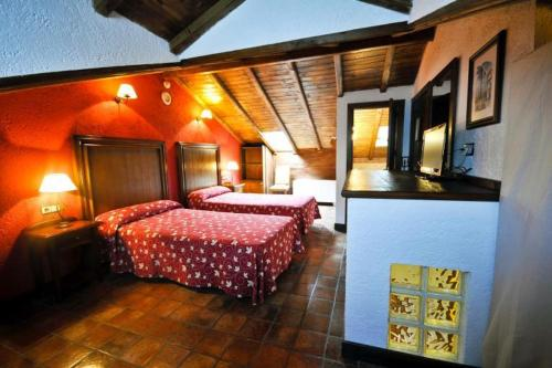 Attic Twin Room Coto del Valle de Cazorla 17