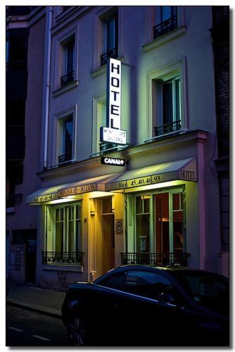 Hôtel Montsouris Orléans impression