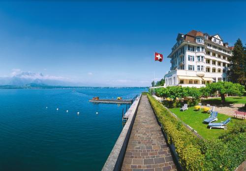 . Hotel Restaurant Bellevue au Lac
