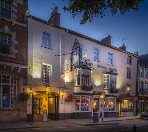 The Three Swans Hotel, Market Harborough, Leicestershire, Market Harborough