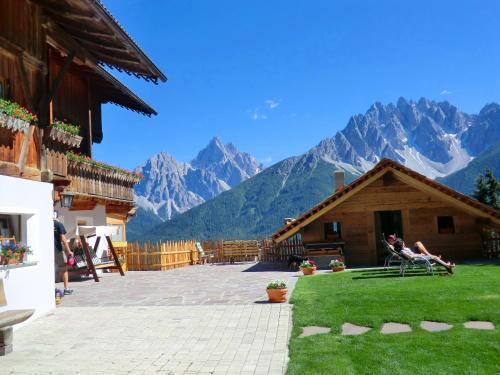 Glinzhof Mountain Natur Resort Agriturismo Vierschach bei Innichen