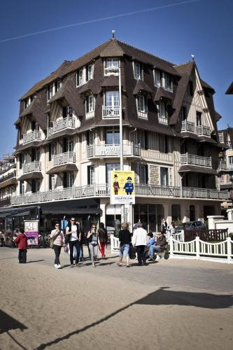 Rue Gustave Flaubert, Trouville-sur-Mer 14360, Normandy, France.