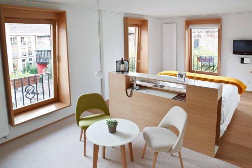 Junior Suite mit Gartenblick - Einzelnutzung Echaurren Hotel Gastronómico 2