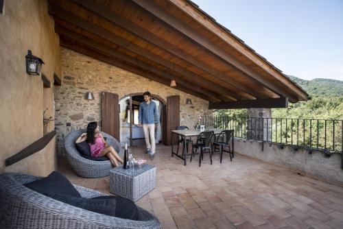 Habitación Doble Deluxe - Uso individual Hotel Mas la Ferreria 9