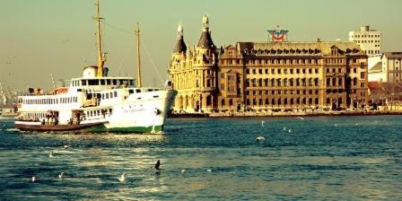 Istanbul Marmaray Asia tatil