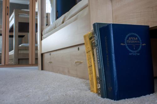 «в Лайк хостел» Спальное место на двухъярусной кровати в общем номере для женщин