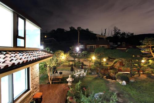 HotelA well watered Garden