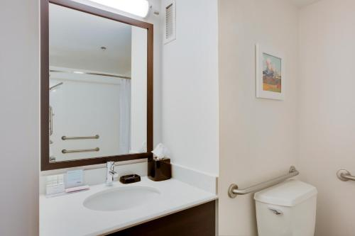 Queen Room - Mobility/Hearing Accessible with Roll-In Shower - Non-Smoking