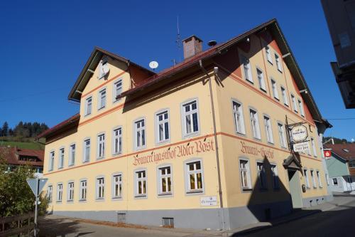 Accommodation in Rettenberg