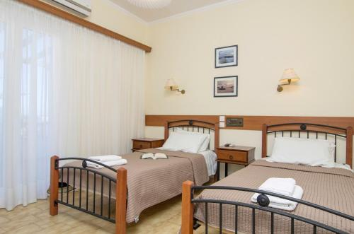 Cameră twin Standard cu vedere la mare (Standard Twin Room with Sea View)