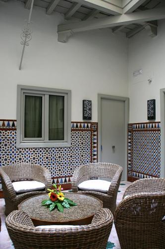 Habitación Doble con vistas al patio - Planta baja Hotel Boutique Casas de Santa Cruz 1