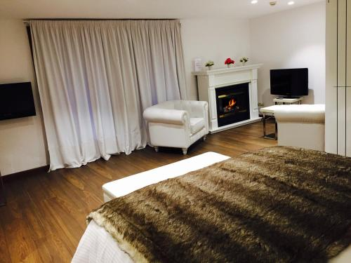 Suite Junior con chimenea y acceso al spa Hotel Del Lago 34