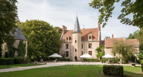Kasteel-overnachting met je hond in Château - Hôtel Le Sallay - Magny-Cours