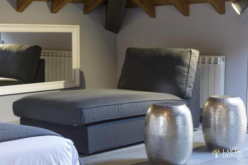 Suite Deluxe con cama extragrande Lar de Donas 1