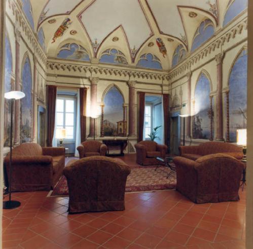 Kasteel-overnachting met je hond in Hotel Palazzo Bocci - Spello
