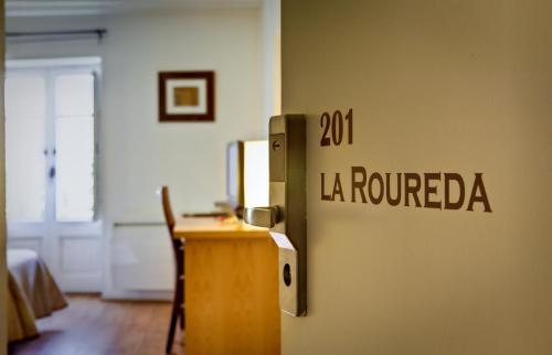 Habitación Doble Económica Hotel La Freixera 11