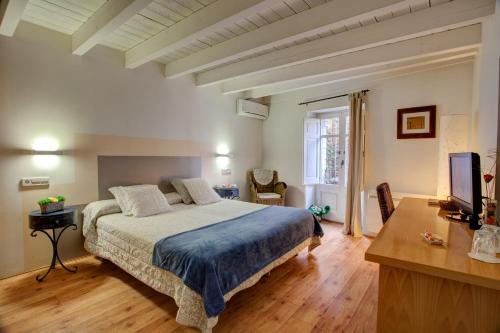 Habitación Doble de uso individual para estancias de negocios Hotel La Freixera 6