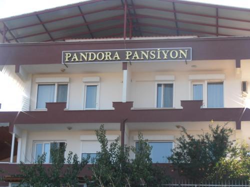 Urla Pandora Apart Pansiyon harita