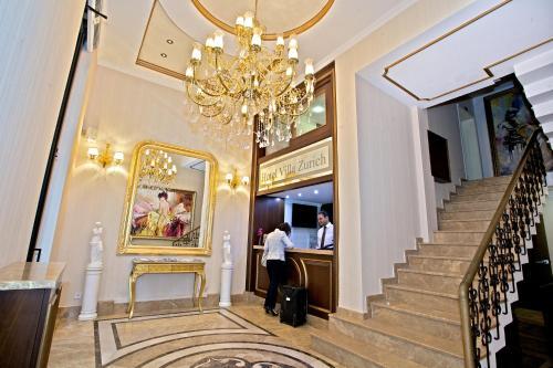 Istanbul Hotel Villa Zurich adres