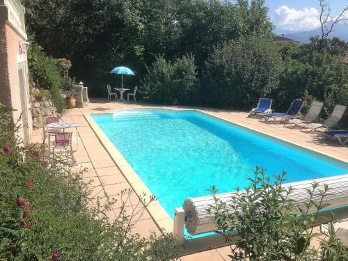 . Studio indépendant dans villa avec piscine à Gap