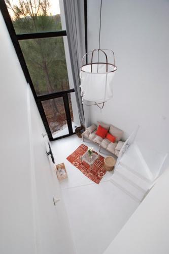 Estudio Deluxe con cama grande - Uso individual Akassa Alojamientos Bioclimaticos en las Hurdes 23