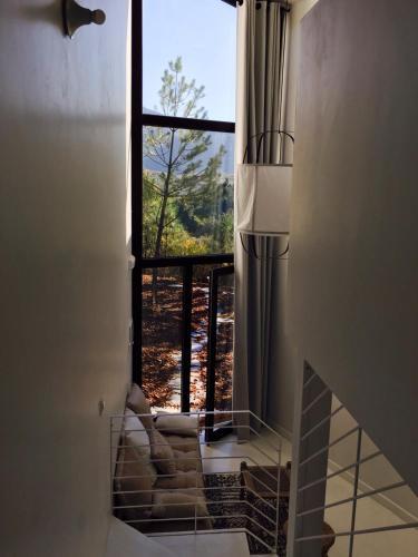 Bungalow Deluxe con vistas al jardín Akassa Alojamientos Bioclimaticos en las Hurdes 37