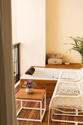 Junior Suite mit Whirlpool Hotel Casa 1800 Sevilla 11